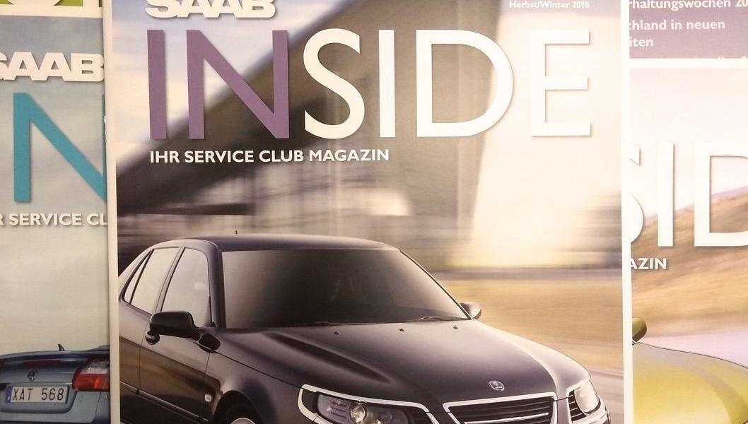 Sta arrivando il nuovo Saab Inside!