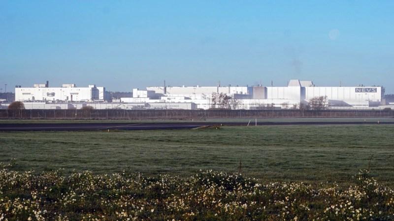 Alte Saab Fabrik in Trollhattan