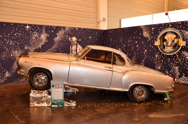 Original: Borgward veut aller aux étoiles!