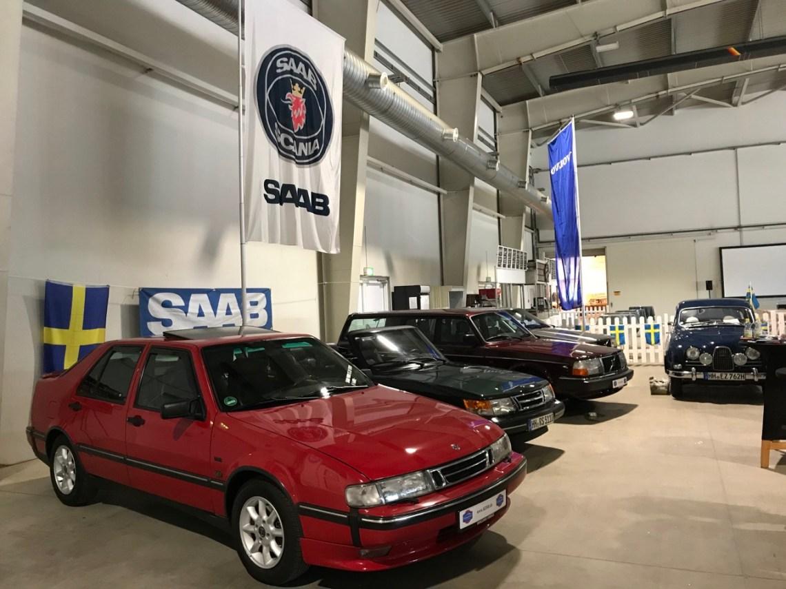 Saab и Volvo 2018 в классические дни