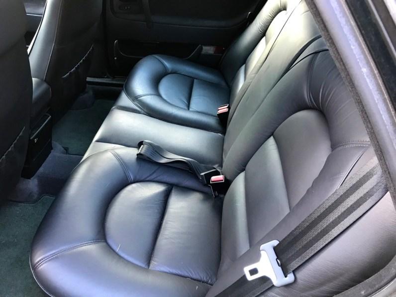 Come nuovo: i sedili posteriori del CD 9000