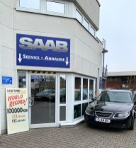 Saab Service Frankfurt - the acceptance remains closed today
