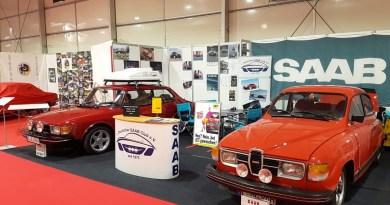 Saab presents 2 classics at the Techno Classica 2019