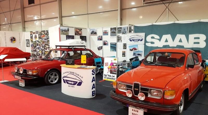 Saab presenta los clásicos de 2 en el Techno Classica 2019