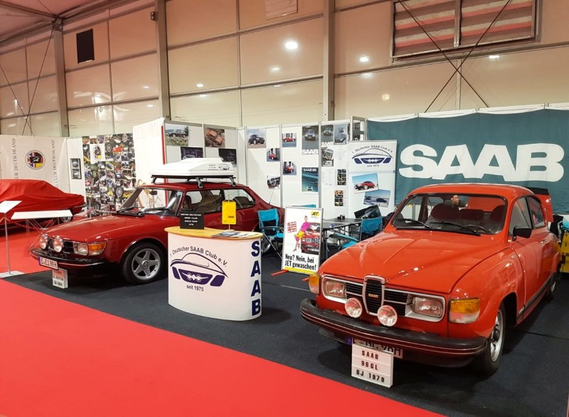 Saab presents 2 classics at the Techno Classica 2019