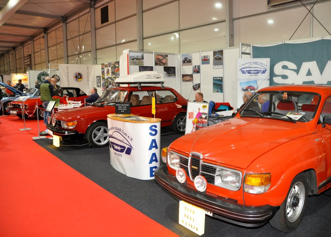 Le 1. Club Saab allemand.