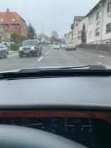 Es schneit, es ist kalt. Saab Wintergrillen?