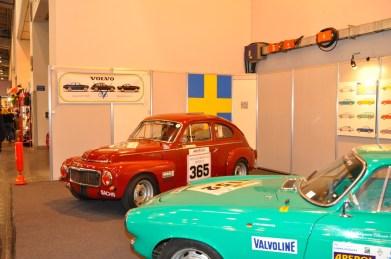 The Volvo Club shows presence.