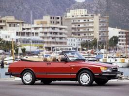 Ein 900 Turbo Cabriolet vor der Modellpflege