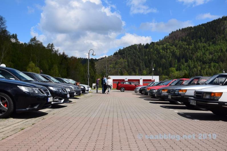 Säsongen börjar med Saab Parade