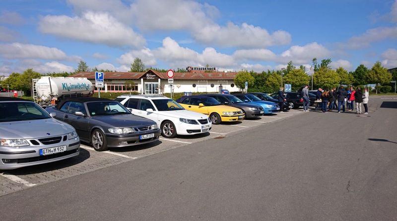 Ausfahrt der Saab Freunde Thüringen