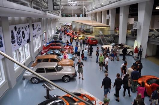 2010-festivalen, med Spyker sportbilar i museet