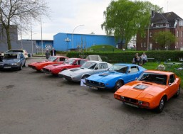 The vehicles of the Saab Sonett faction 2017