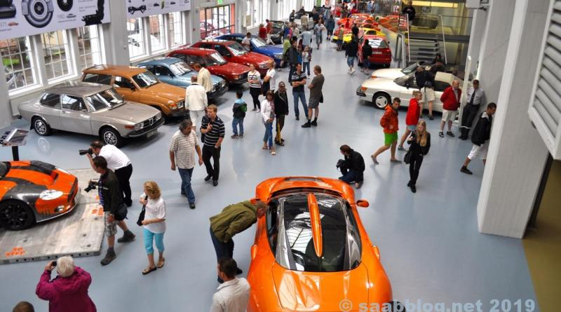 Long ago. Spyker 2010 at the Saab Museum Trollhättan