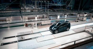 Prototipo de Sono Motors en la antigua fábrica de Saab en Trollhättan