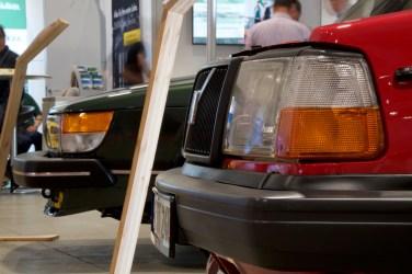 Volvo et Saab, concept de salon à Neumünster