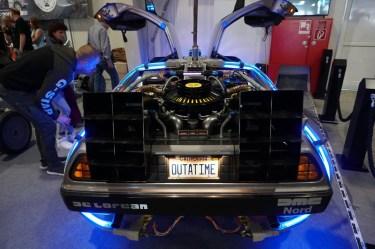 DeLorean - noch so ein Mythos. Jetzt übrigens auch verfilmt