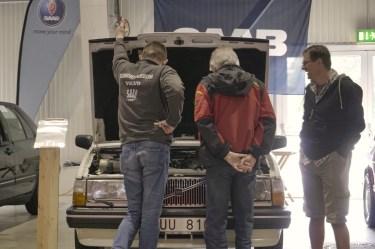 Duiken met Volvo-kap
