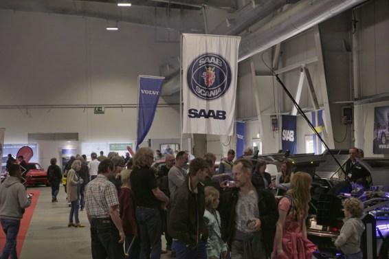 Saab und Volvo als Publikumsmagnet