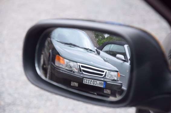 And Saab in the rearview mirror