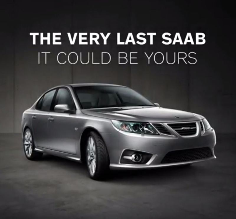 The very last Saab. NEVS via Instagram