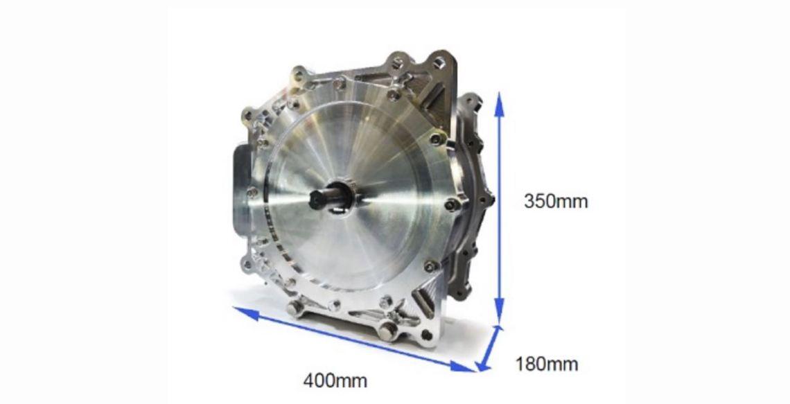 Nidec in-wheel motor