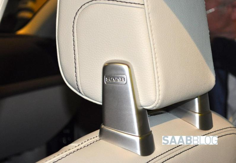 Seriously, this is a Volvo seat with Saab logo