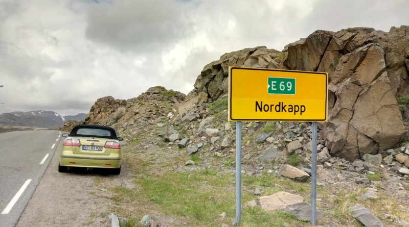 Once North Cape and back with the Saab 9-3 Cabriolet
