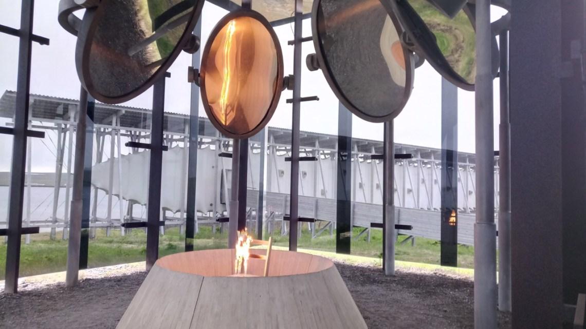 Memorial de Peter Zumthor e da escultora franco-americana Louise Bourgeois