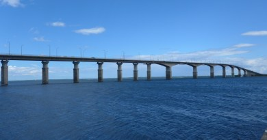 Spectacular! Bridge from Kalmar to Öland.