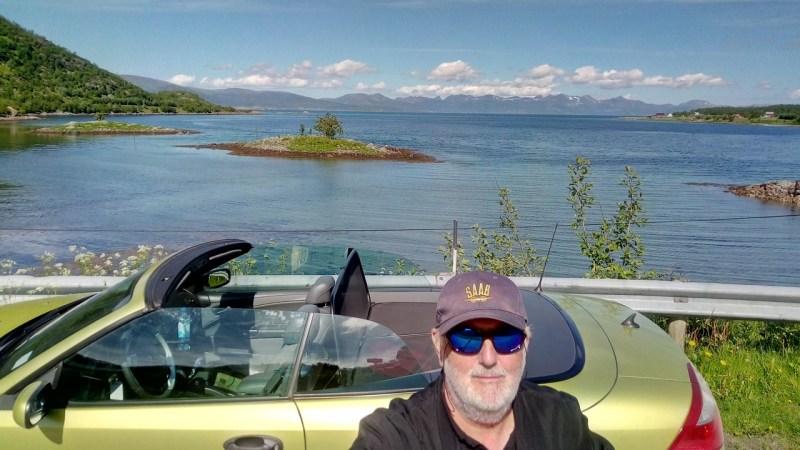 Weiter nach Norden. Der alte Mann und sein Saab