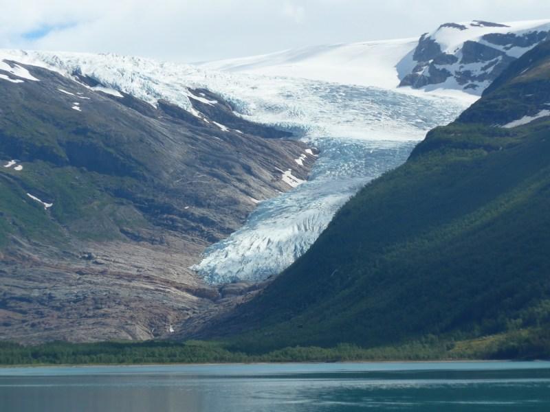 I grandi ghiacciai. Ancora molto impressionante