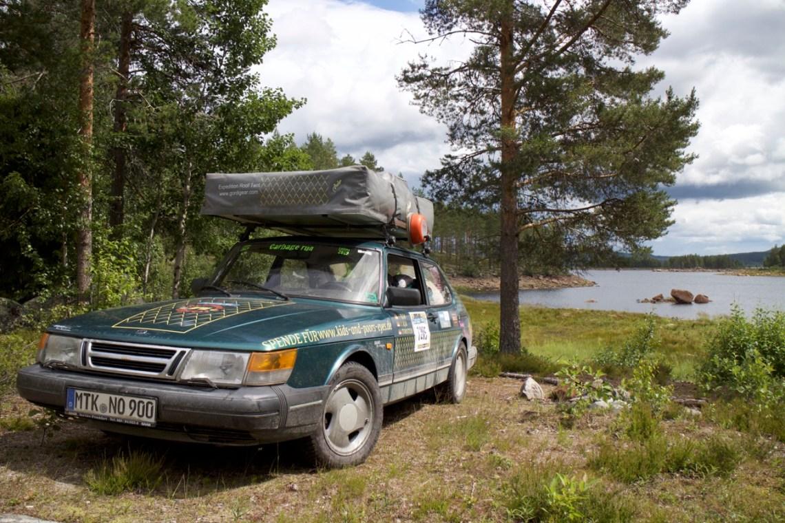 Saab 900 i sin naturliga miljö