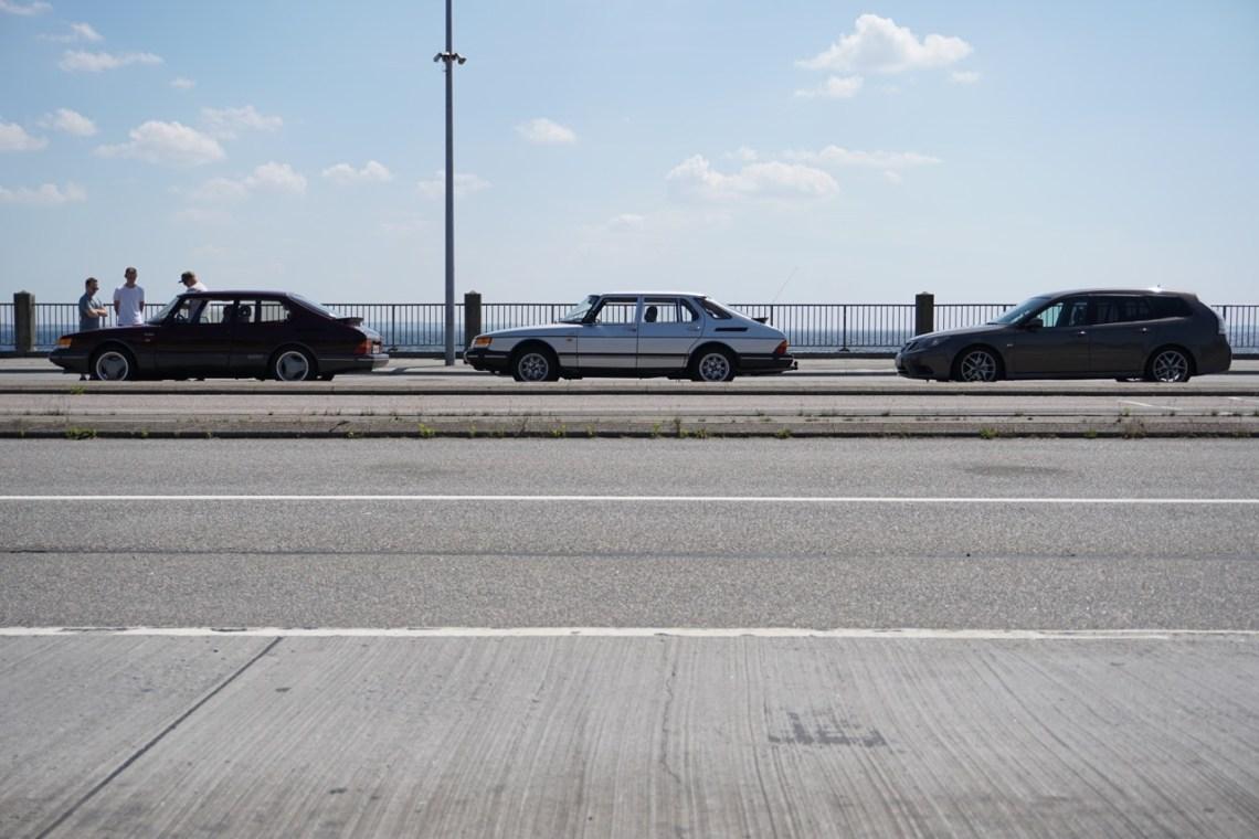 Onze kleine Saab-column