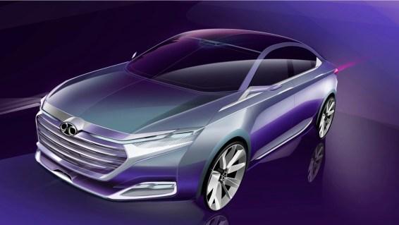 Granstudion Design 2017. Een mix van Audi en Buick