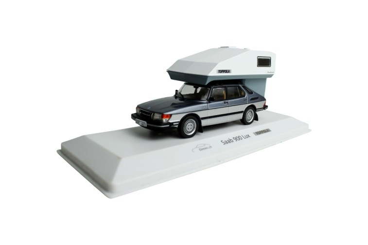 Saab 900 Lux 1984 with Toppola Camper