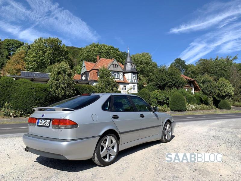 Saab Aero unterwegs in der Rhön