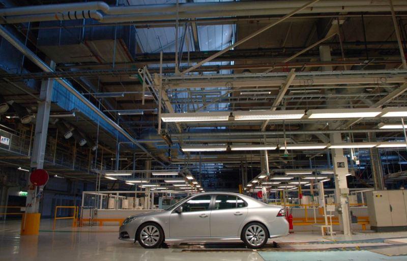 Saab 9-3 MY 2014 in fabbrica