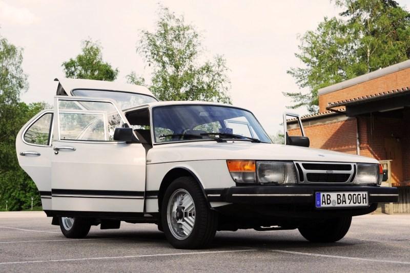 Saab 900 van 1985