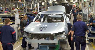 Saab Produktionsstart in die Spyker Zeit