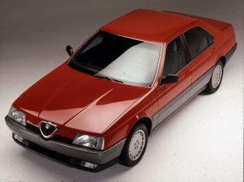 Alfa 164. Saab Verwandtschaft, na klar