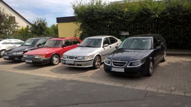 4 Saabs, une petite collection