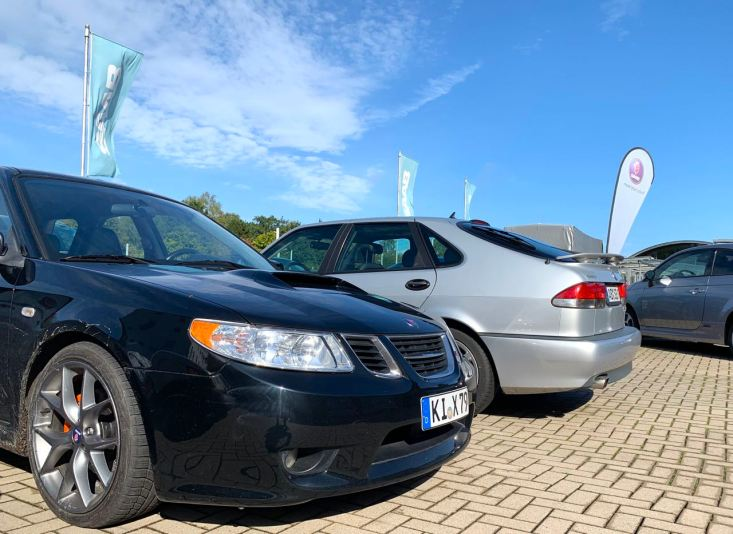 2 x Aero. 2 x Saab. Once from Sweden and once from Japan.