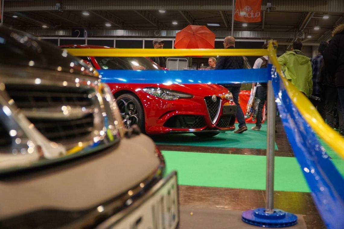 Alfa Romeo meets Saab. Snapshot in Essen