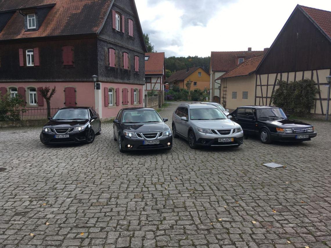 Avec de merveilleuses voitures de Trollhättan