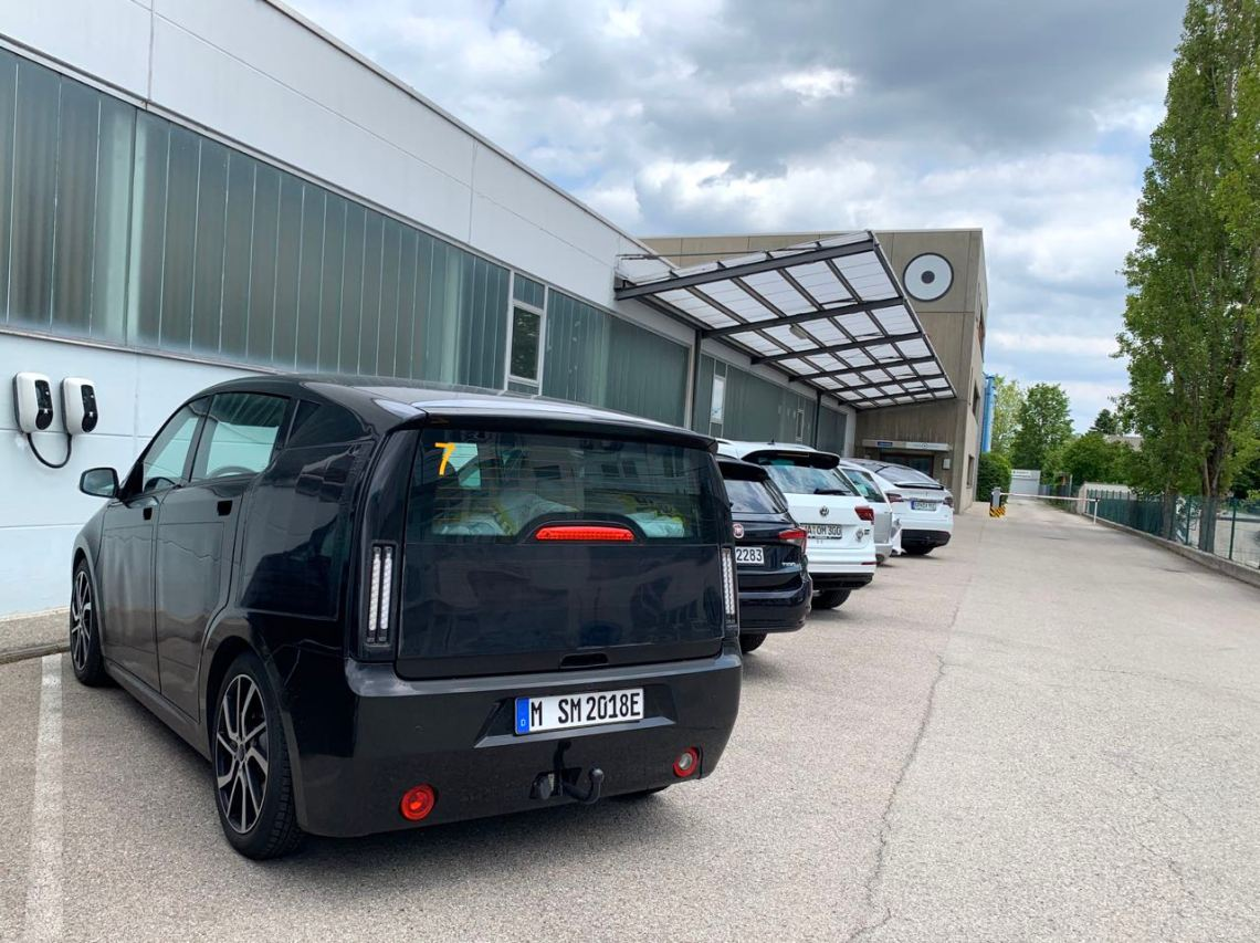 Prototipo de Sono Motors y Sion