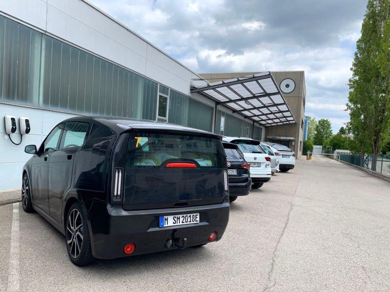 Sono Motors und Sion Prototyp