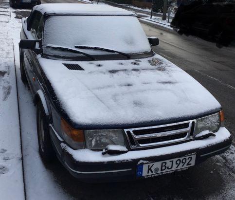 Время от времени в Рейнской области идет снег. Представление Андреас.