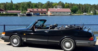 410.000 kilometers with the open-air Saab