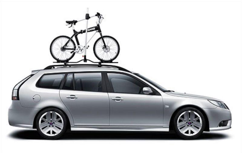 Das Saab Fahrrad gab es im Saab Expression Shop zu kaufen